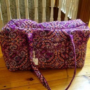 Vera Bradley Dream Tapestry Large Travel Duffel